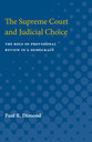 Cover image for 'The Supreme Court and Judicial Choice'