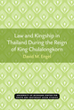 Cover image for 'Law and Kingship in Thailand During the Reign of King Chulalongkorn'