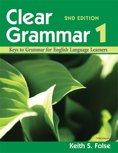 Book Cover Ideas For English : Clear grammar nd edition