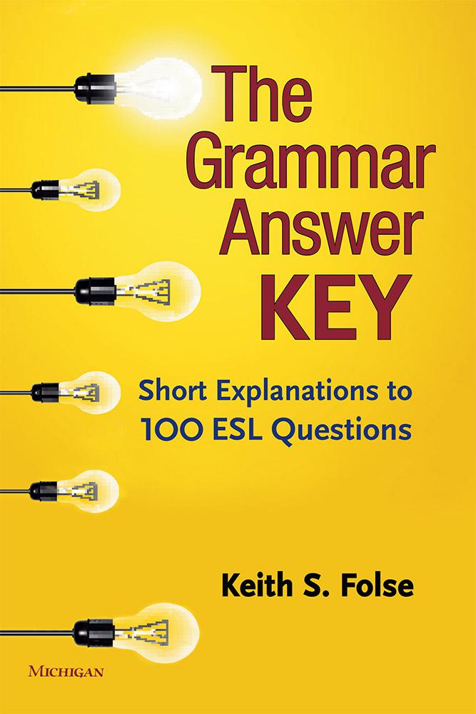 The Grammar Answer Key