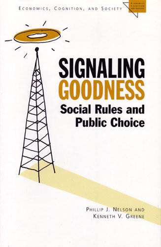 understanding the concept of costly signaling in the signaling theory in economics We will apply the tools developed in game theory to analyse the  signaling 1a  adverse selection definition adverse selection arises when an informed  individual's trading  the basic idea is that it is more costly for a low productivity.
