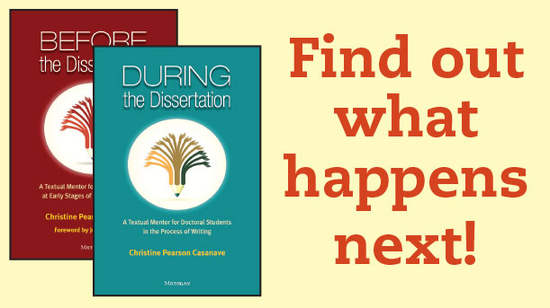 Ready for the Sequel? During the Dissertation Now Available