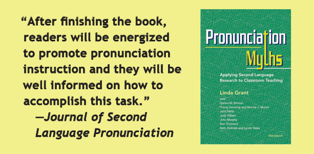 After finishing the book, readers will be energized to promote pronunciation instruction and they will be well informed on how to accomplish this task. --Journal of Second Language Pronunciation