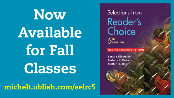 Now Available for Fall Classes: Selections from Reader's Choice