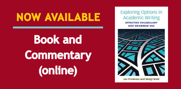 Book and Online Commentary Now Available