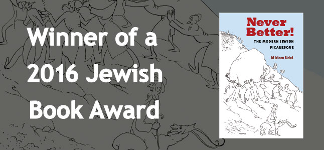 Winner of a 2016 Jewish Book Award