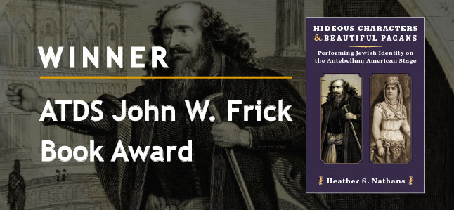 Winner ATDS John W. Frick Book Award