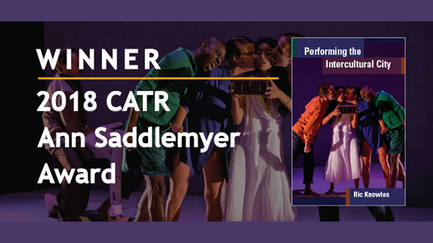 Winner 2018 CATR Ann Saddlemyer Award
