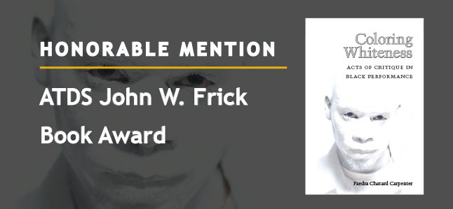 Honorable Mention - ATDS John W. Frick Book Award