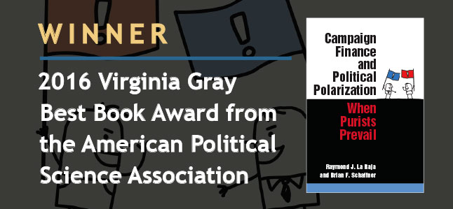 Winner, 2016 Virginia Gray Best Book Award from the American Political Science Association