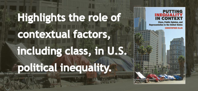 Highlights the role of contextual factors, including class, in U.S. political inequality