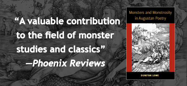 A valuable contribution to the field of monster studies and classics--Phoenix Reviews
