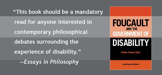 This book should be a mandatory read for anyone interested in contemporary philosophical debates surrounding the experience of disability. --- Essays in Philosophy