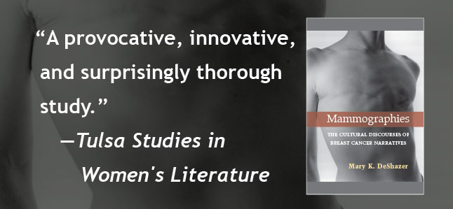 A provocative, innovative, and surprisingly thorough study. --- Tulsa Studies in Women's Literature