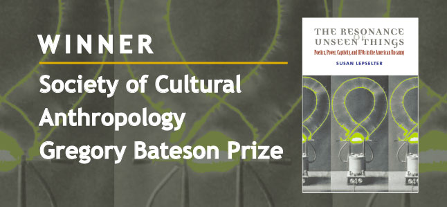 Winner Society of Cultural Anthropology Gregory Bateson Prize