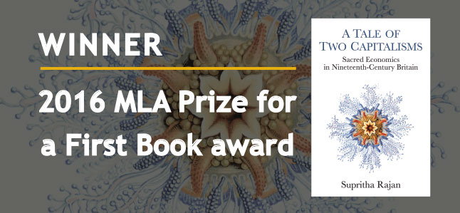 Winner: MLA Prize for a First Book