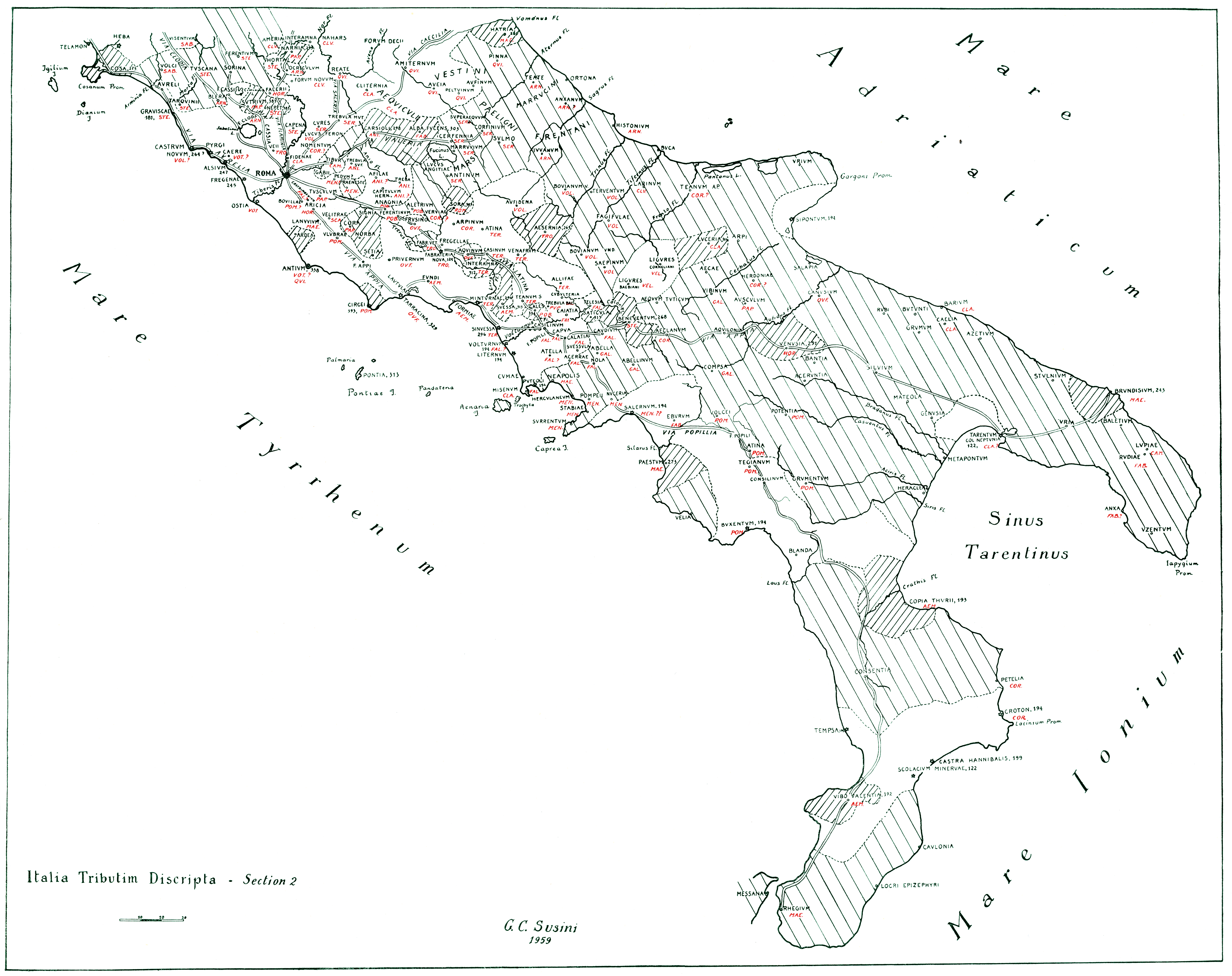 The Voting Districts Of The Roman Republic